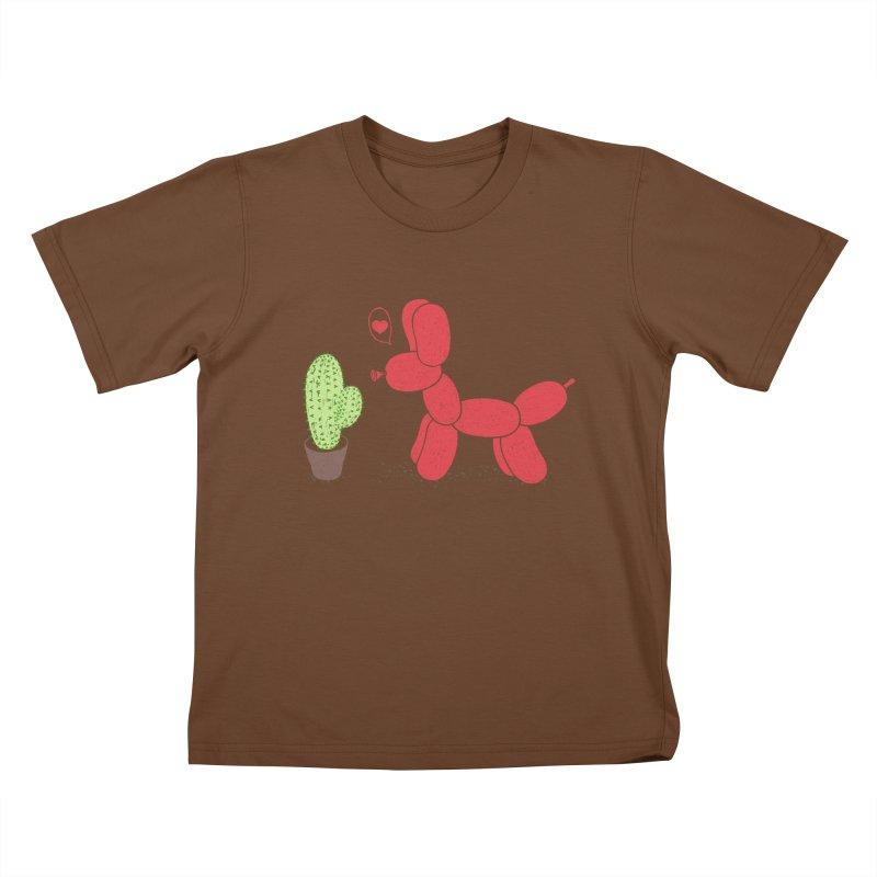 sometimes love is death Kids T-Shirt by makapa's Artist Shop