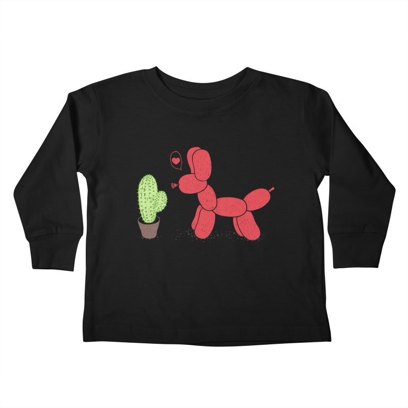sometimes love is death Kids Toddler Longsleeve T-Shirt by makapa's Artist Shop
