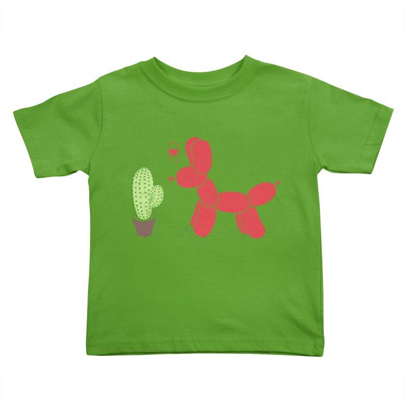 sometimes love is death Kids Toddler T-Shirt by makapa's Artist Shop