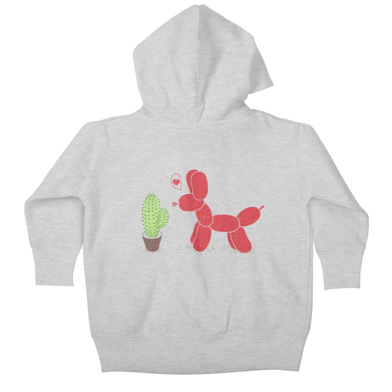 sometimes love is death Kids Baby Zip-Up Hoody by makapa's Artist Shop
