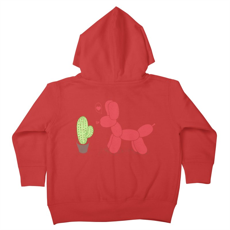sometimes love is death Kids Toddler Zip-Up Hoody by makapa's Artist Shop