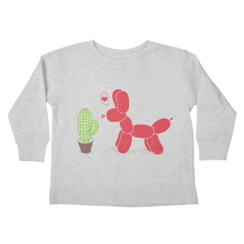 sometimes love is death Kids Toddler Longsleeve T-Shirt by makapa's Artist Shop