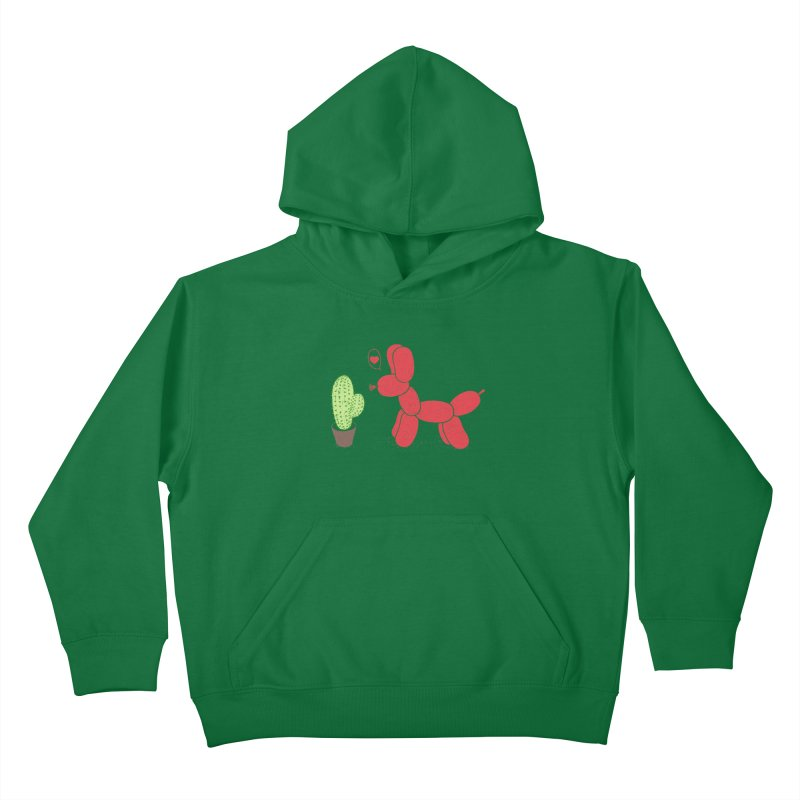 sometimes love is death Kids Pullover Hoody by makapa's Artist Shop