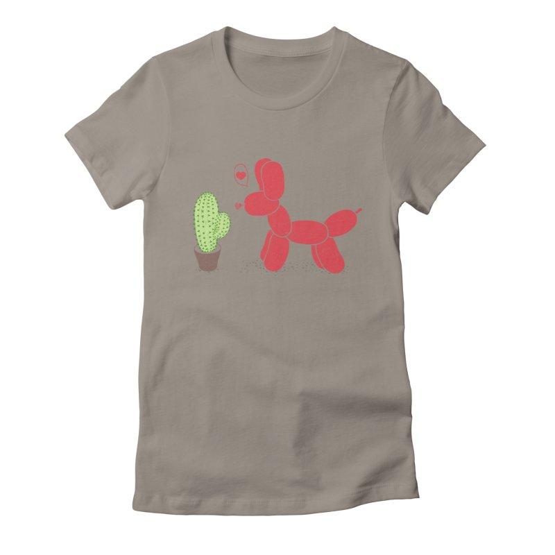 sometimes love is death Women's Fitted T-Shirt by makapa's Artist Shop