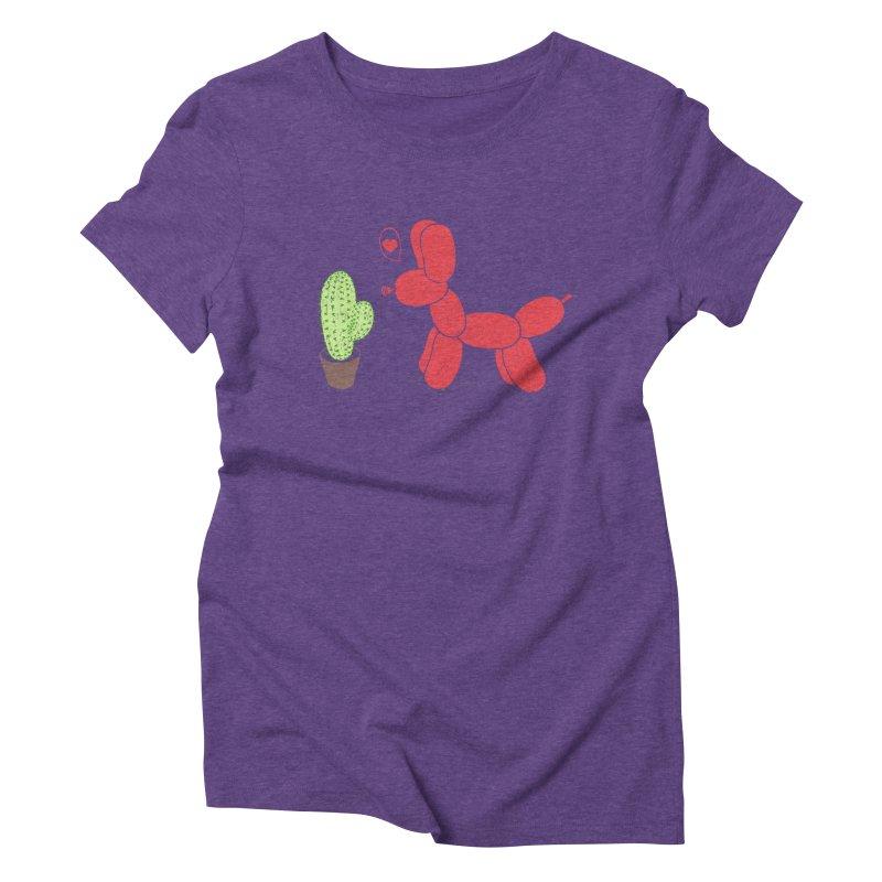 sometimes love is death Women's Triblend T-Shirt by makapa's Artist Shop