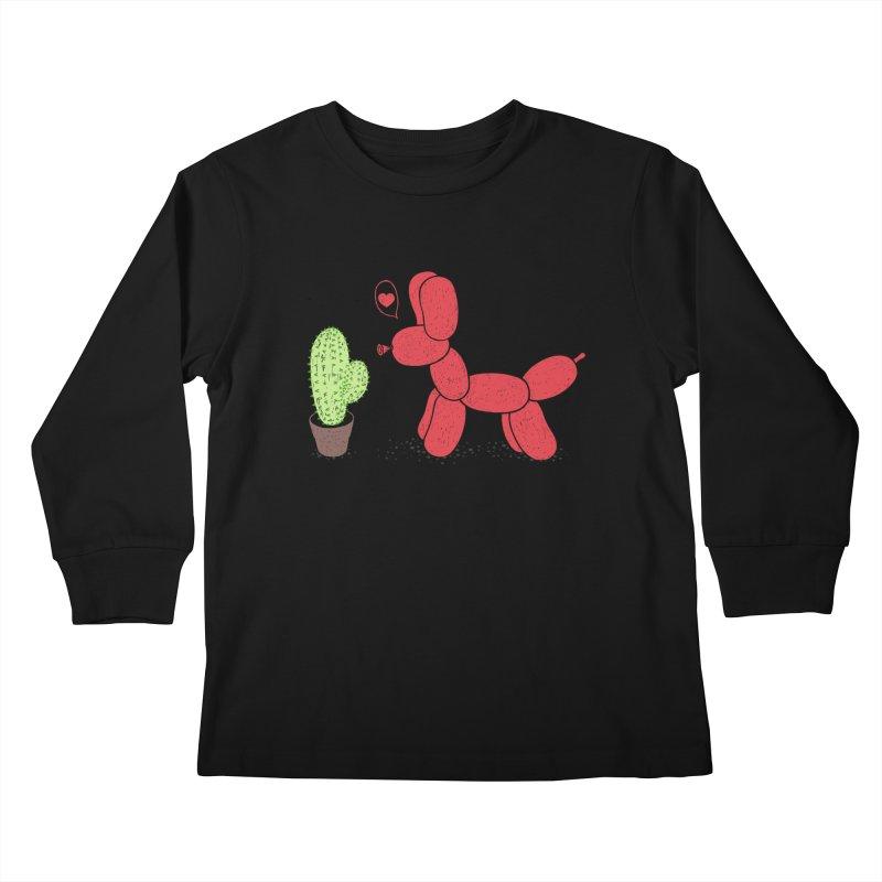 sometimes love is death Kids Longsleeve T-Shirt by makapa's Artist Shop