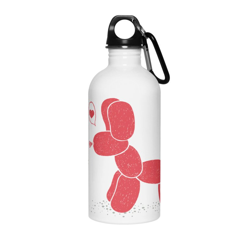 sometimes love is death Accessories Water Bottle by makapa's Artist Shop