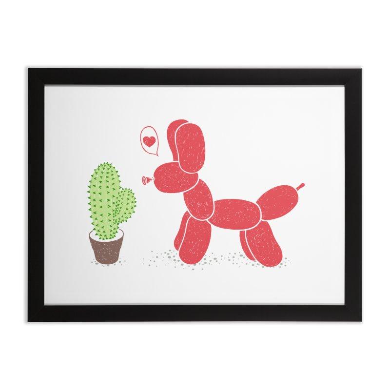 sometimes love is death Home Framed Fine Art Print by makapa's Artist Shop