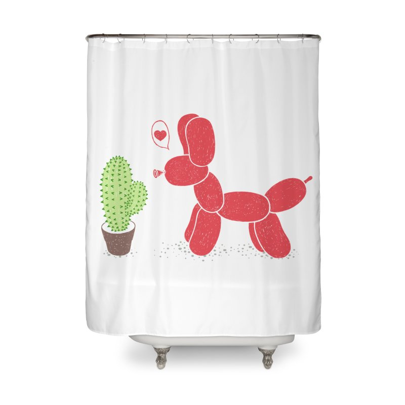 sometimes love is death Home Shower Curtain by makapa's Artist Shop