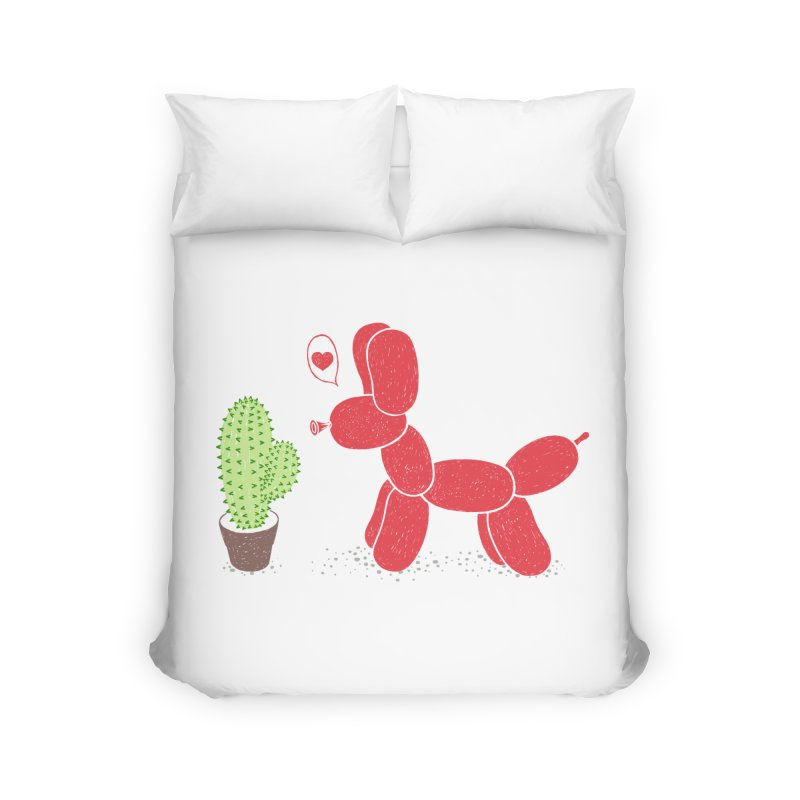 sometimes love is death Home Duvet by makapa's Artist Shop