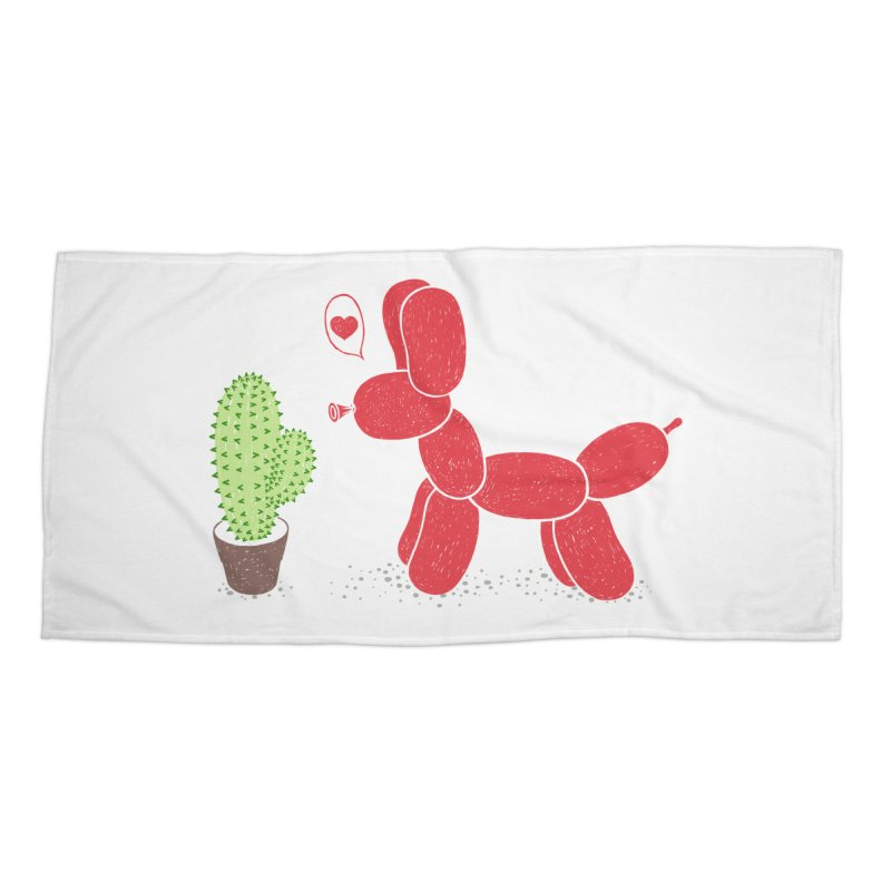 sometimes love is death Accessories Beach Towel by makapa's Artist Shop