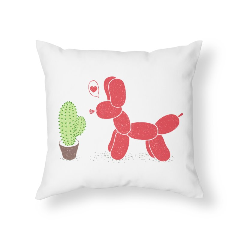 sometimes love is death Home Throw Pillow by makapa's Artist Shop