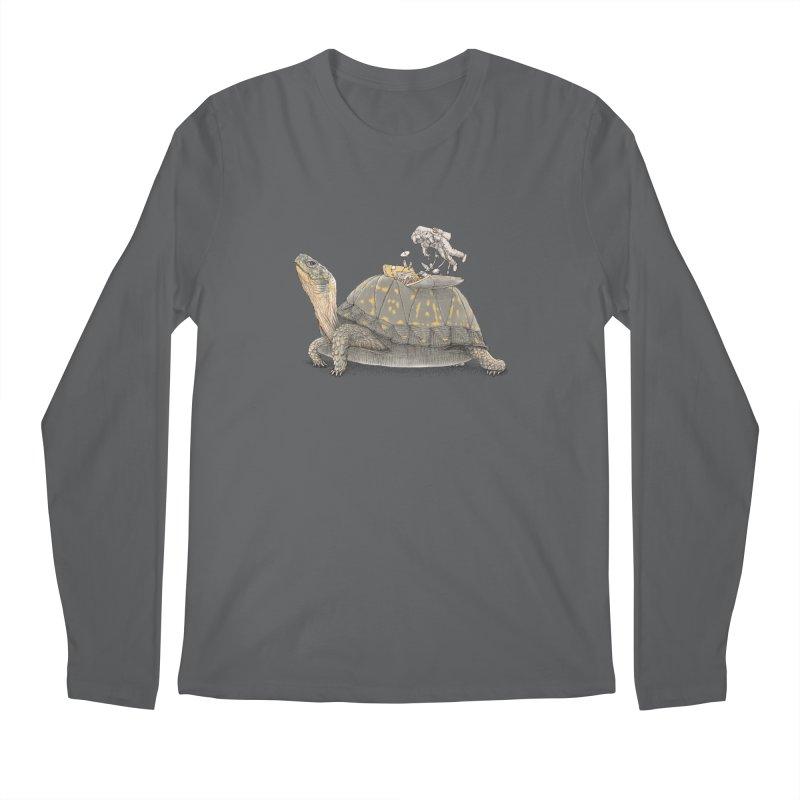 busy in holiday Men's Longsleeve T-Shirt by makapa's Artist Shop