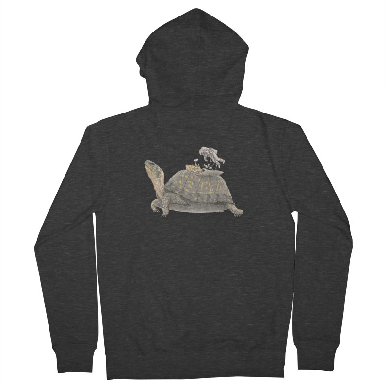 busy in holiday Women's French Terry Zip-Up Hoody by makapa's Artist Shop