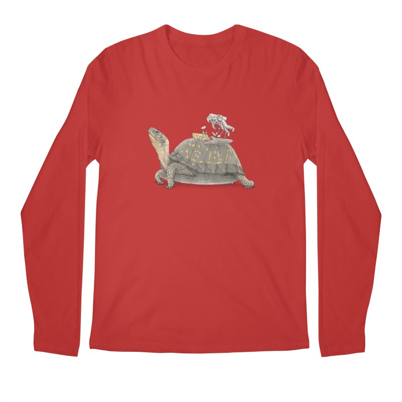 busy in holiday Men's Longsleeve T-Shirt by makapa's Artist Shop