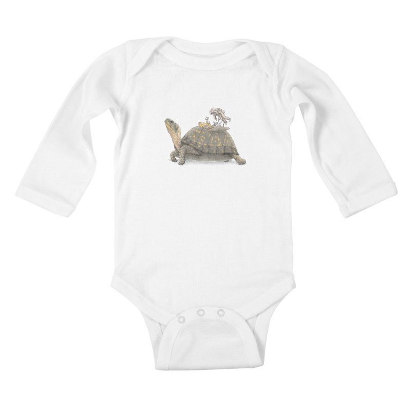 busy in holiday Kids Baby Longsleeve Bodysuit by makapa's Artist Shop