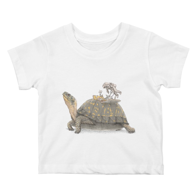 busy in holiday Kids Baby T-Shirt by makapa's Artist Shop