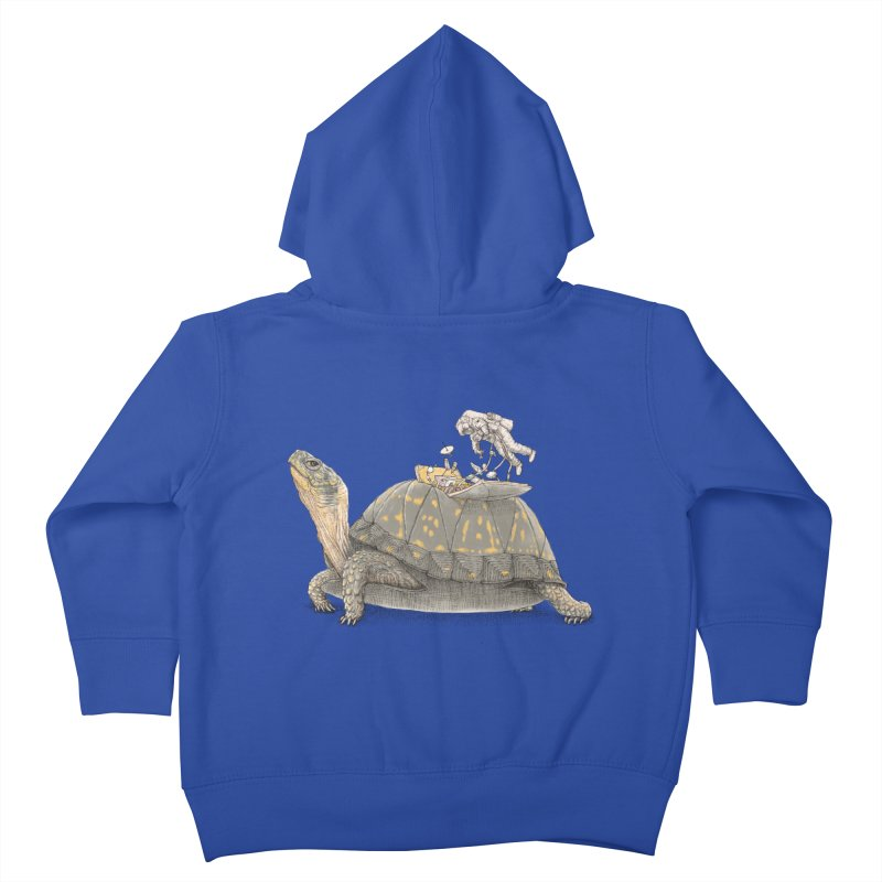 busy in holiday Kids Toddler Zip-Up Hoody by makapa's Artist Shop