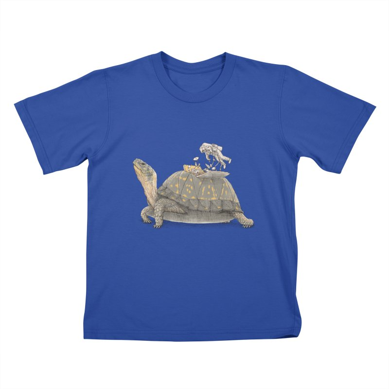 busy in holiday Kids T-Shirt by makapa's Artist Shop