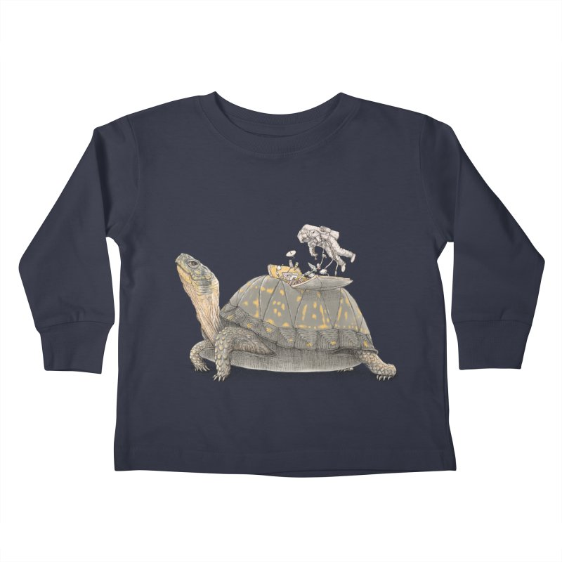 busy in holiday Kids Toddler Longsleeve T-Shirt by makapa's Artist Shop