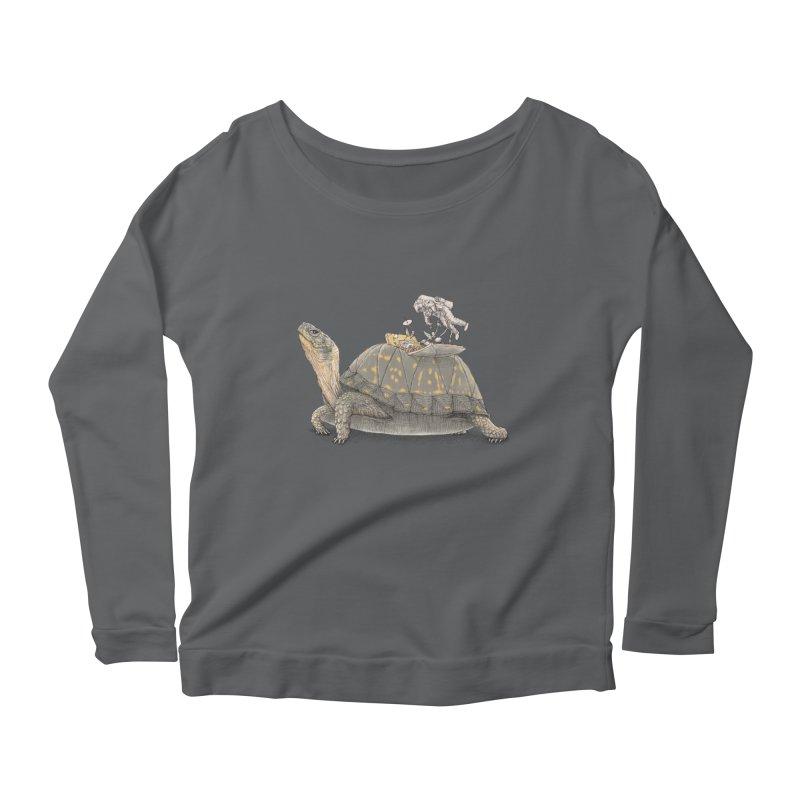 busy in holiday Women's Longsleeve T-Shirt by makapa's Artist Shop