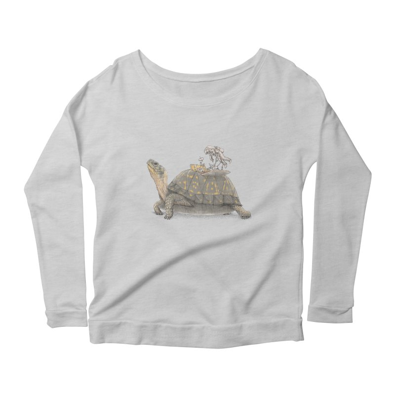 busy in holiday Women's Longsleeve T-Shirt by makapa's Artist Shop