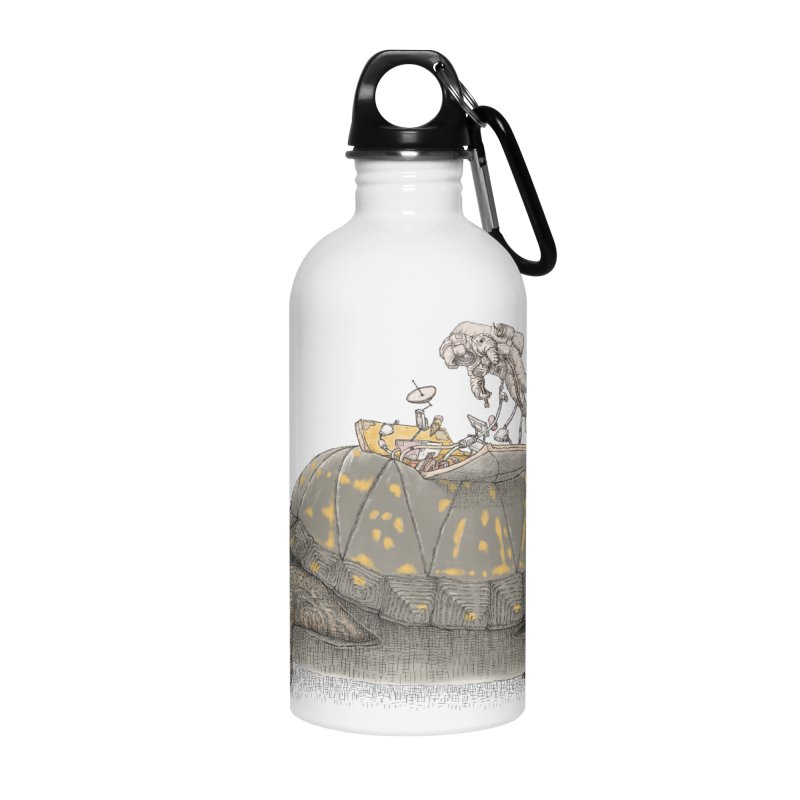busy in holiday Accessories Water Bottle by makapa's Artist Shop