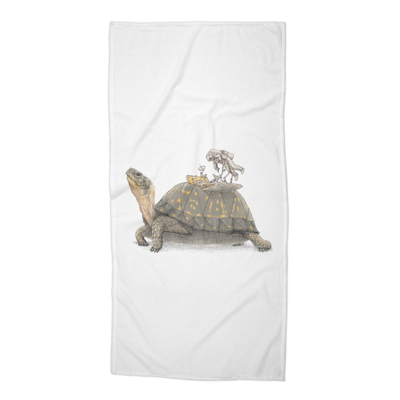 busy in holiday Accessories Beach Towel by makapa's Artist Shop