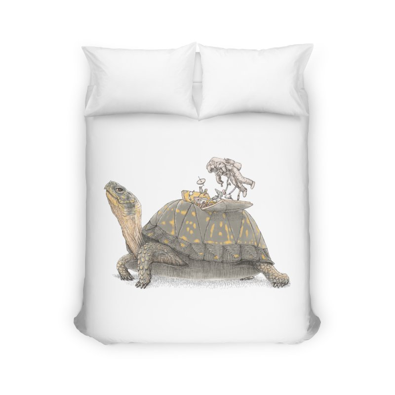 busy in holiday Home Duvet by makapa's Artist Shop