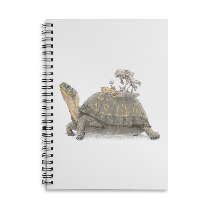 busy in holiday Accessories Lined Spiral Notebook by makapa's Artist Shop