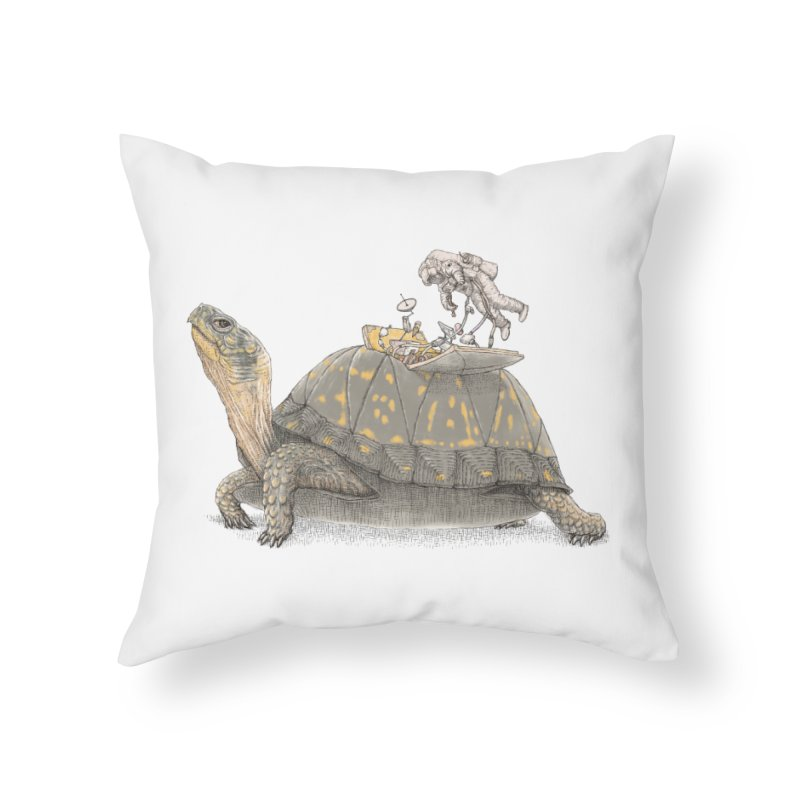 busy in holiday Home Throw Pillow by makapa's Artist Shop