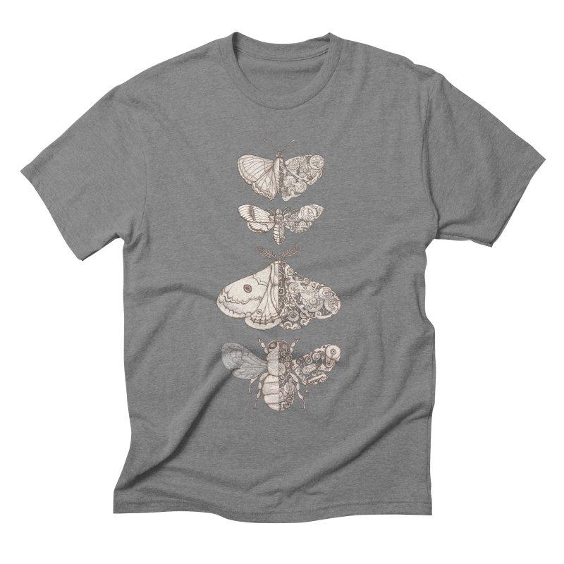 bug scifi Men's Triblend T-Shirt by makapa's Artist Shop