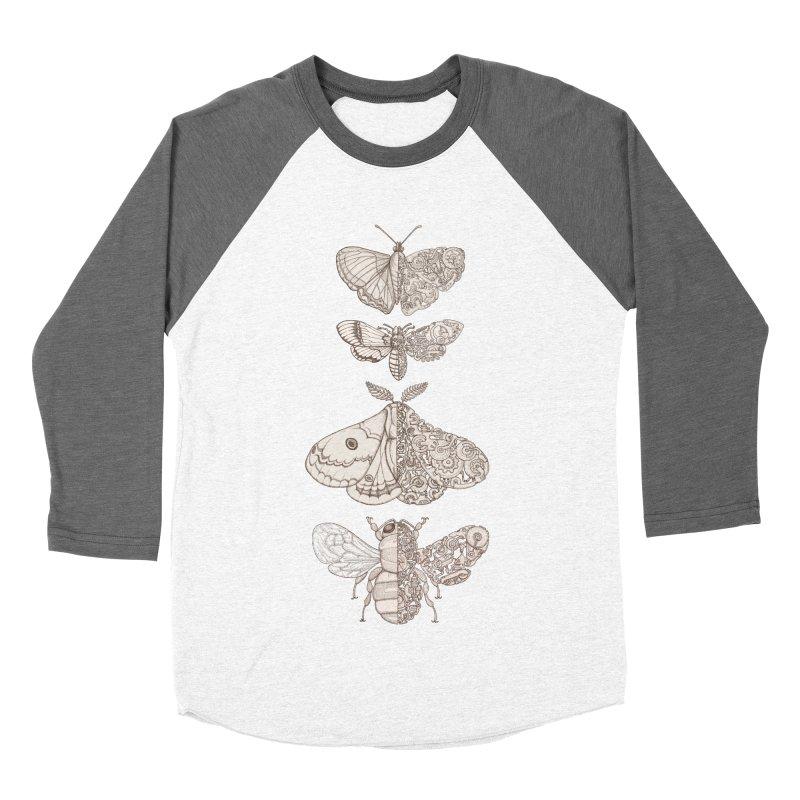 bug scifi Men's Baseball Triblend T-Shirt by makapa's Artist Shop