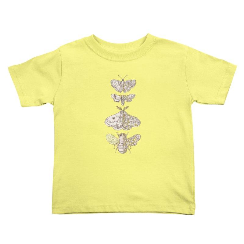 bug scifi Kids Toddler T-Shirt by makapa's Artist Shop