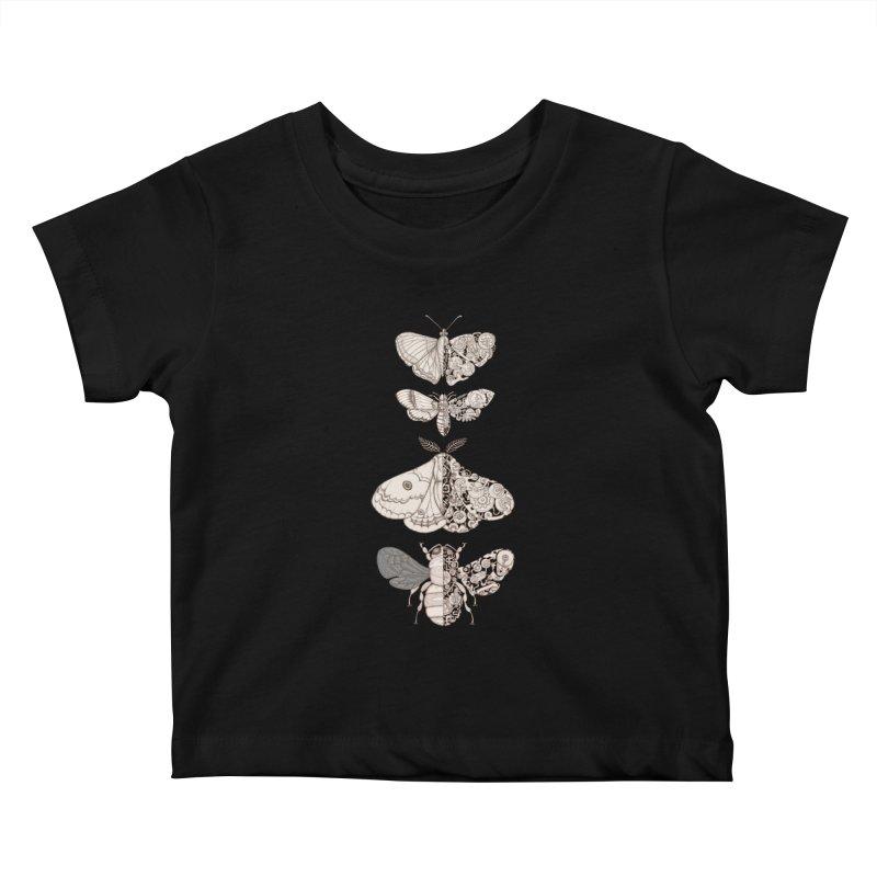 bug scifi Kids Baby T-Shirt by makapa's Artist Shop