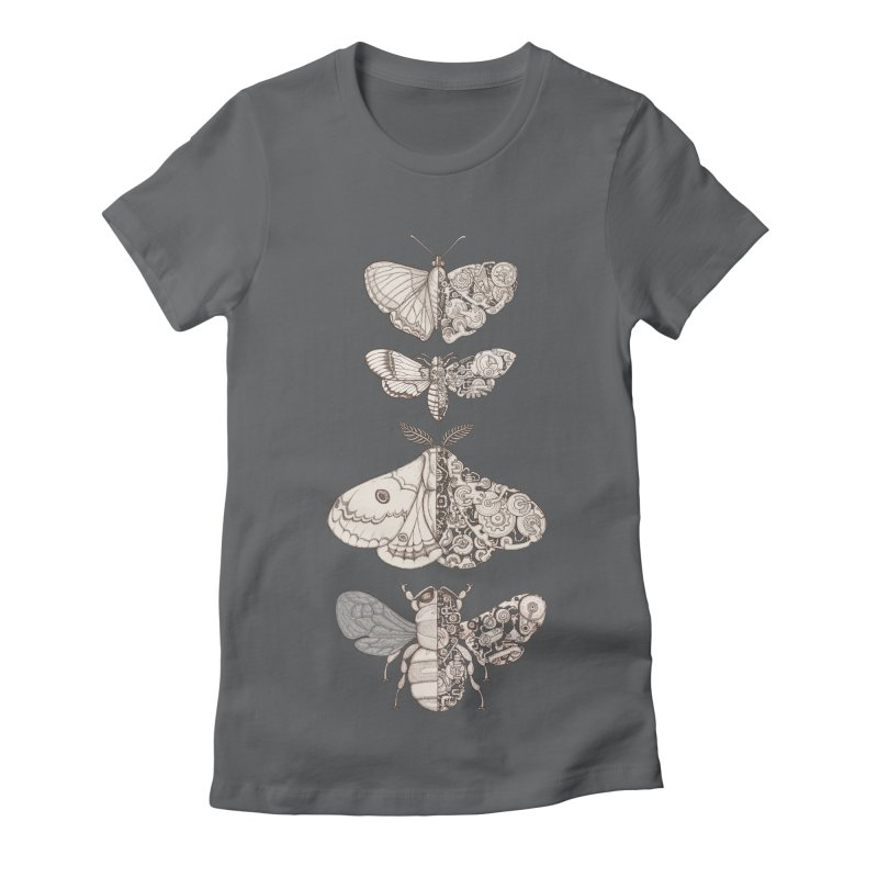 bug scifi Women's Fitted T-Shirt by makapa's Artist Shop
