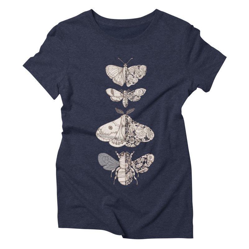 bug scifi Women's Triblend T-Shirt by makapa's Artist Shop