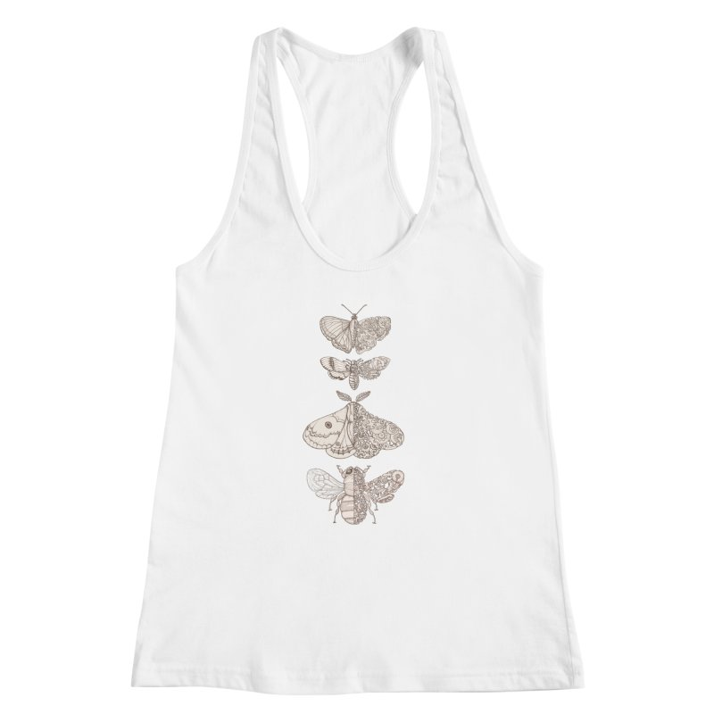 bug scifi Women's Racerback Tank by makapa's Artist Shop