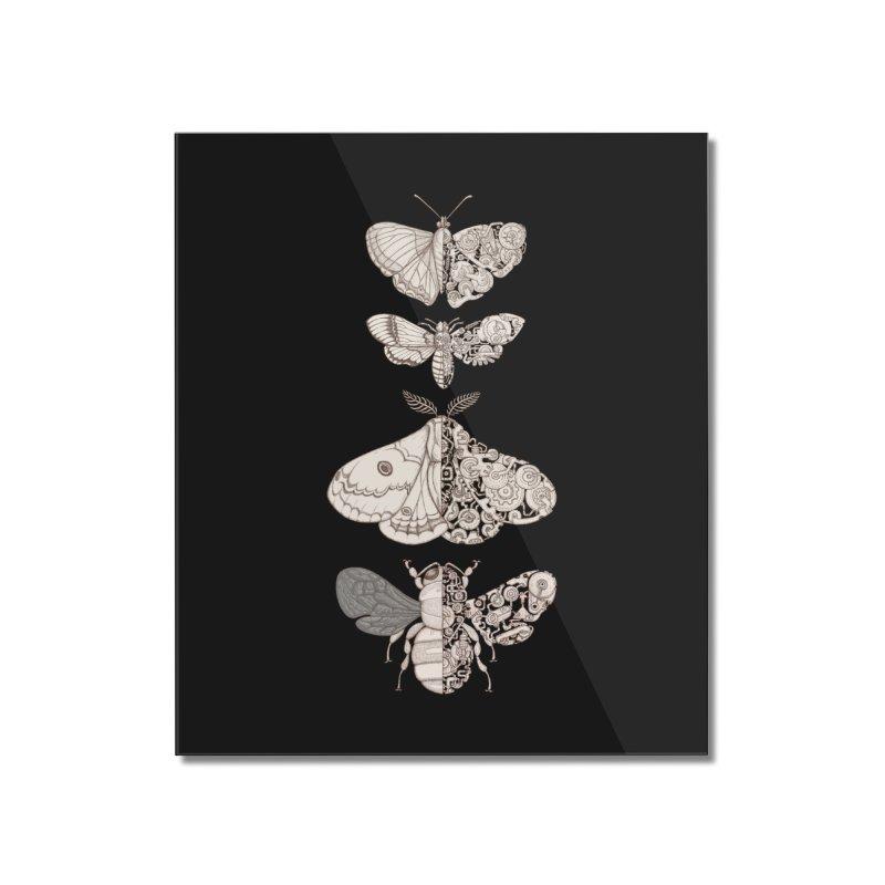 bug scifi Home Mounted Acrylic Print by makapa's Artist Shop