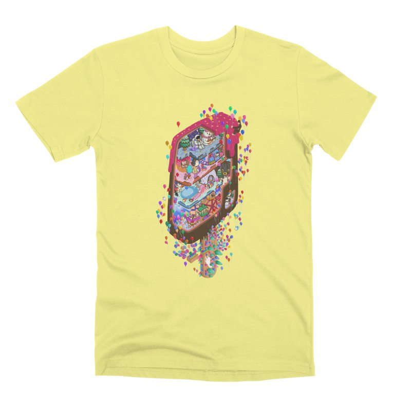 in ice cream Men's T-Shirt by makapa's Artist Shop