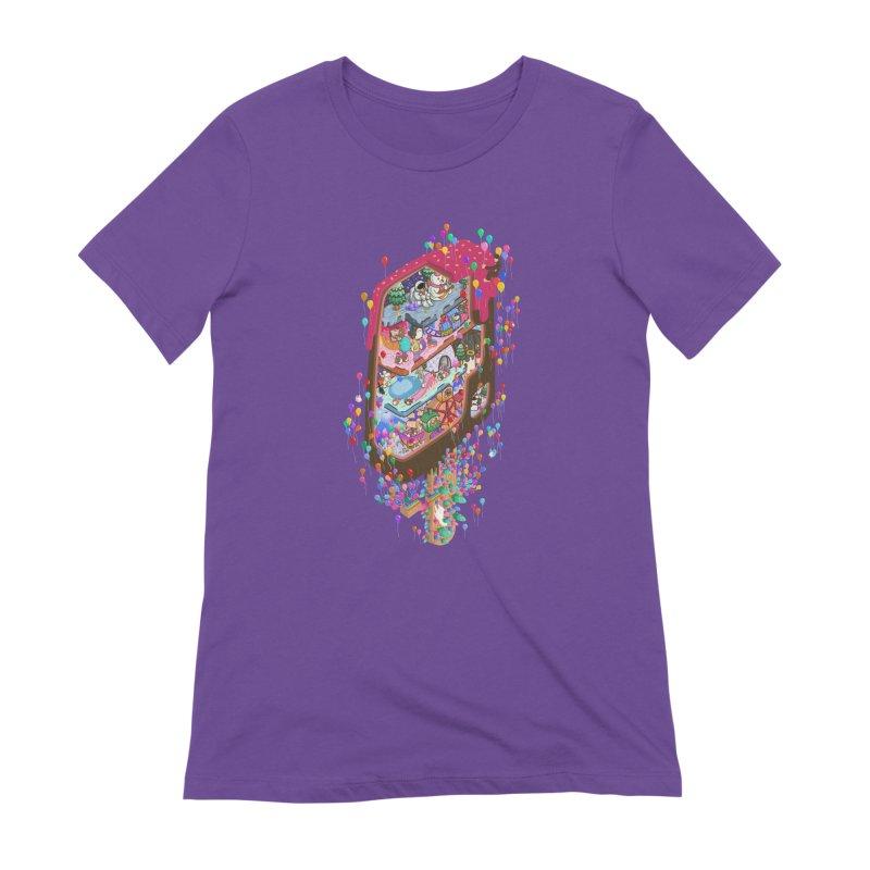in ice cream Women's T-Shirt by makapa's Artist Shop
