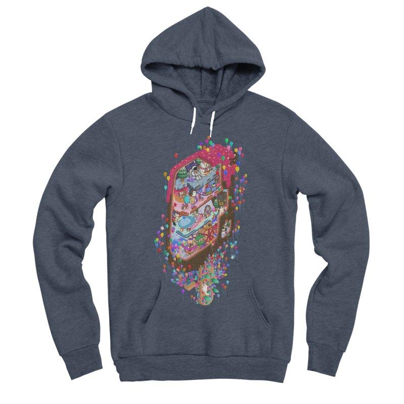 in ice cream Men's Sponge Fleece Pullover Hoody by makapa's Artist Shop