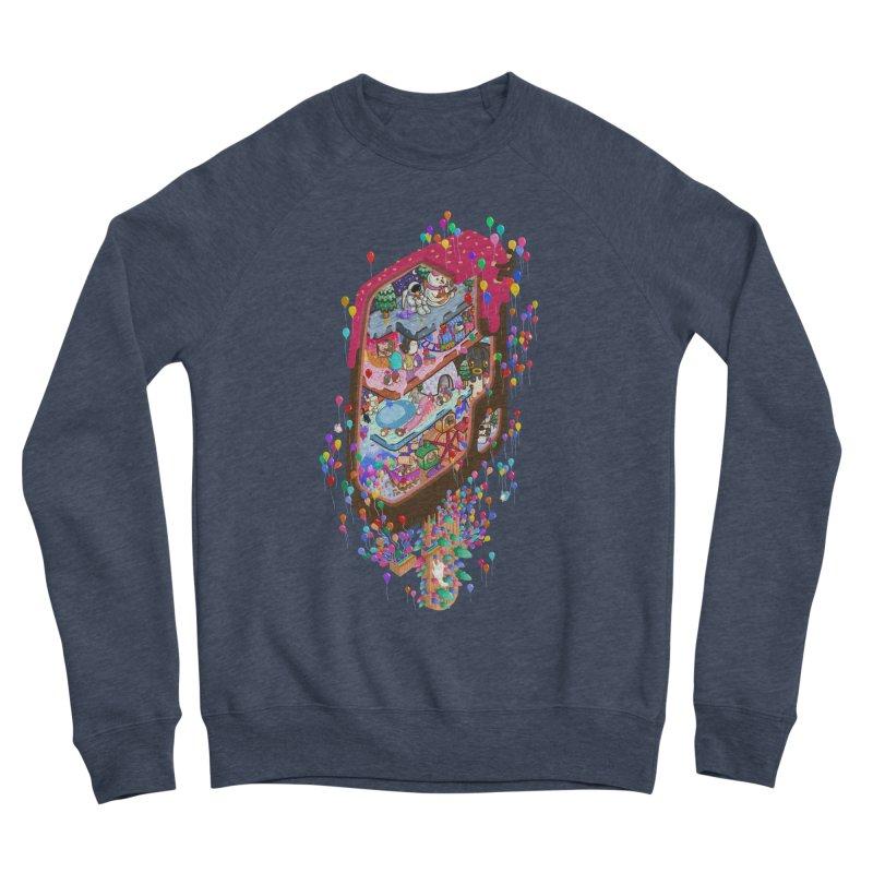 in ice cream Women's Sponge Fleece Sweatshirt by makapa's Artist Shop