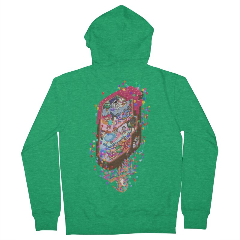 in ice cream Men's Zip-Up Hoody by makapa's Artist Shop