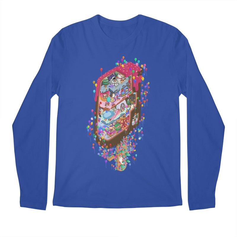 in ice cream Men's Longsleeve T-Shirt by makapa's Artist Shop