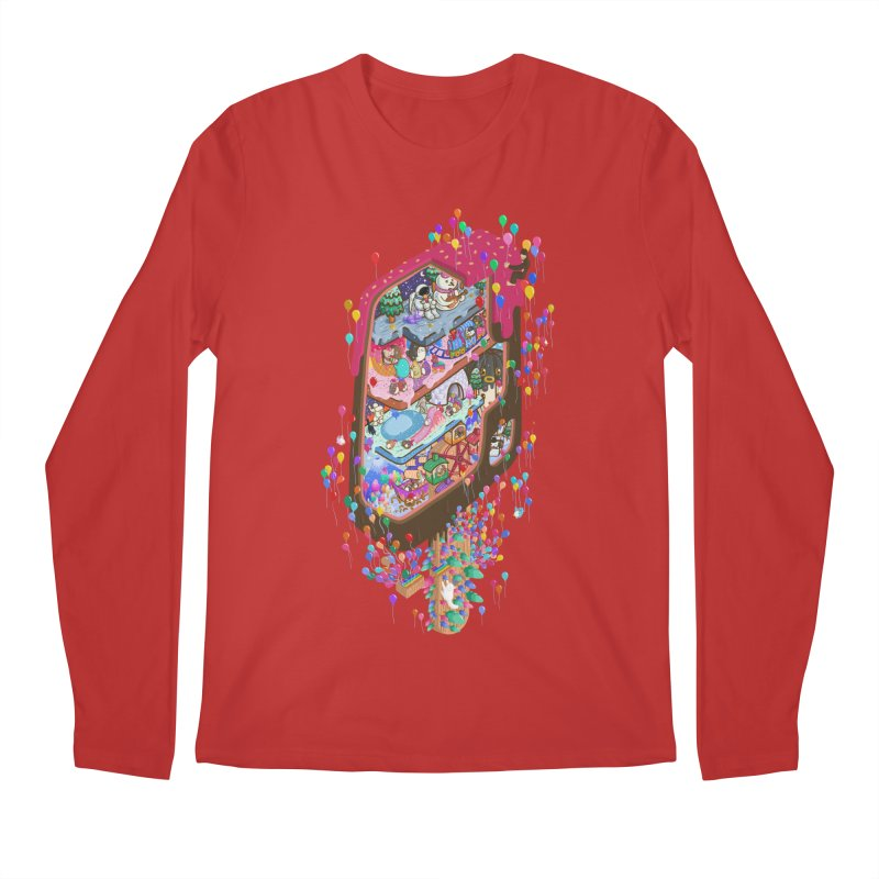 in ice cream Men's Longsleeve T-Shirt by makapa's Artist Shop