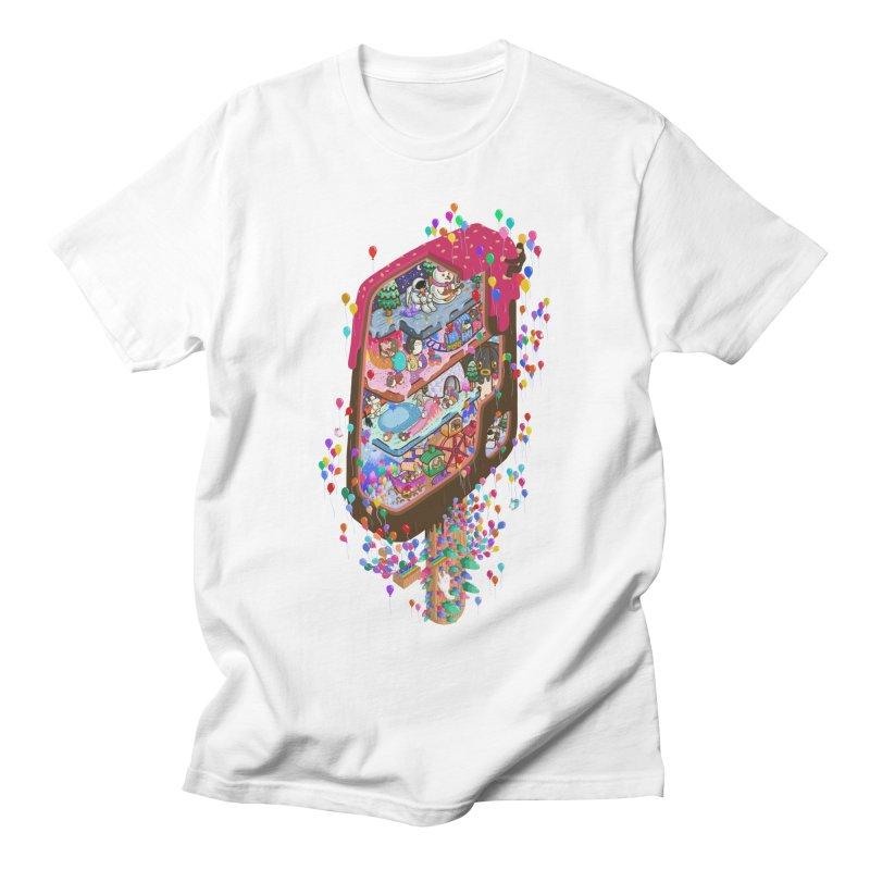 in ice cream Men's T-Shirt by makapa's Artist Shop