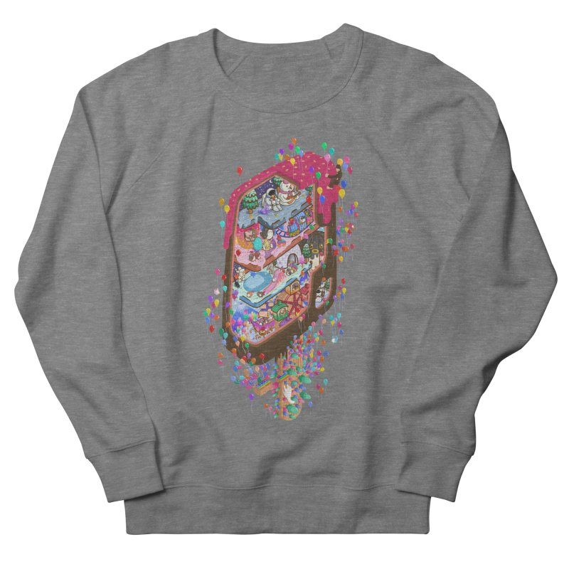 in ice cream Men's Sweatshirt by makapa's Artist Shop