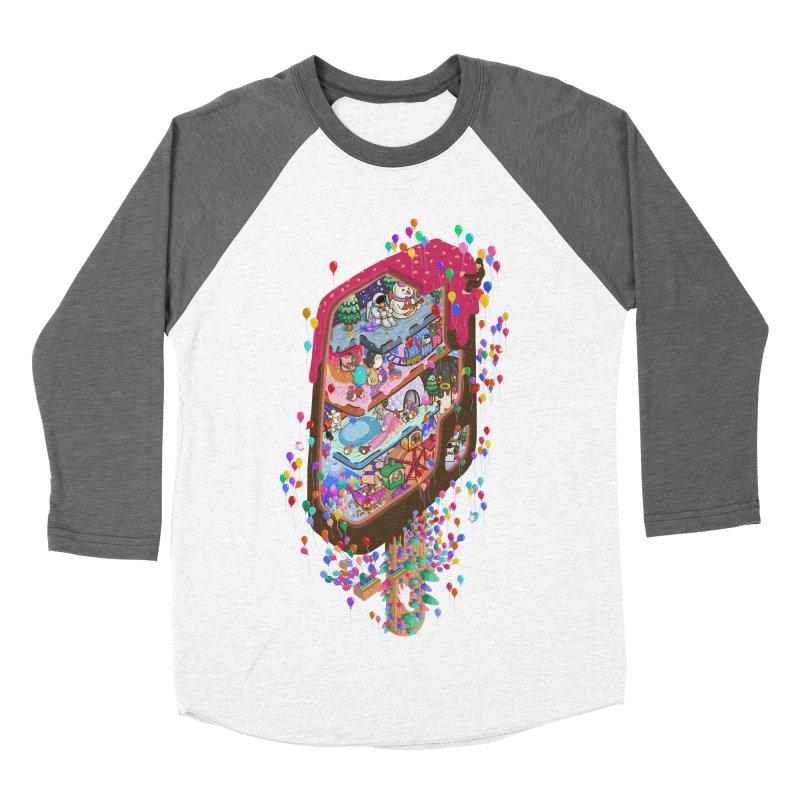 in ice cream Women's Longsleeve T-Shirt by makapa's Artist Shop