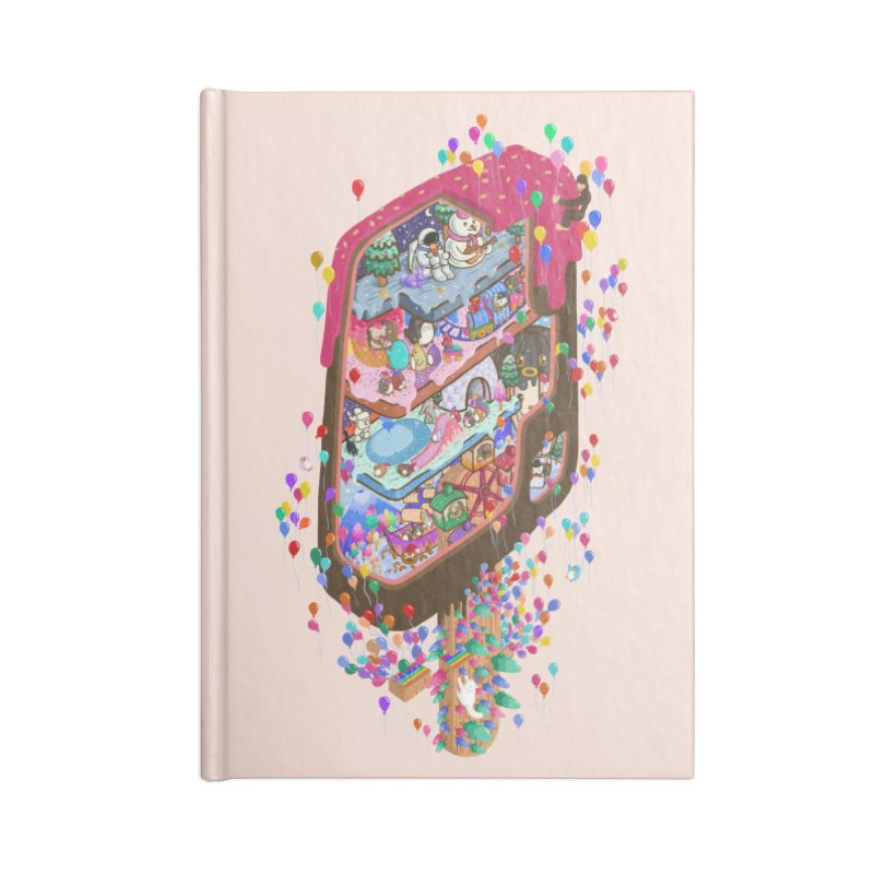 in ice cream Accessories Notebook by makapa's Artist Shop